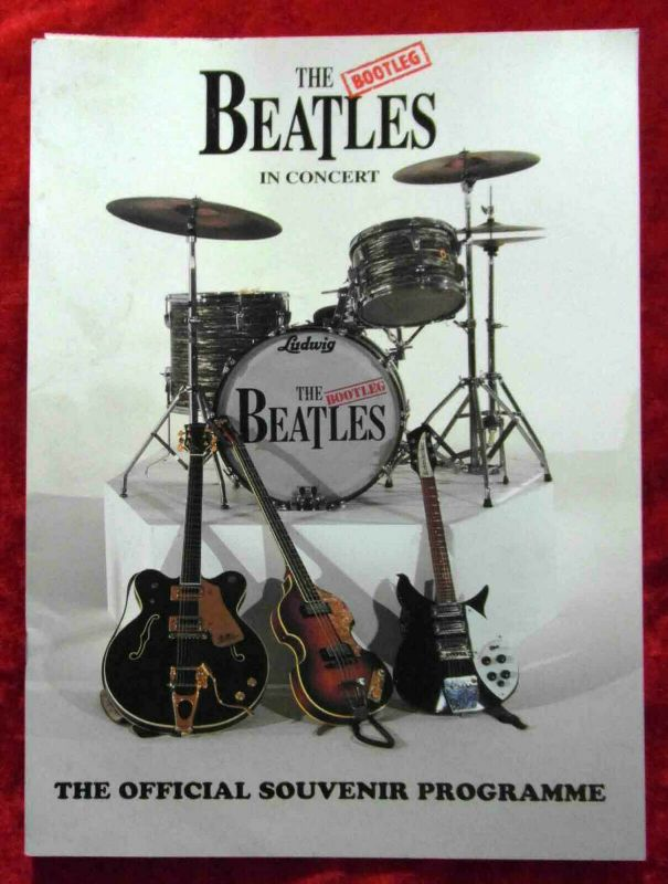 Tourprogramm The Beatles - die falschen Vier In Concert - 1995