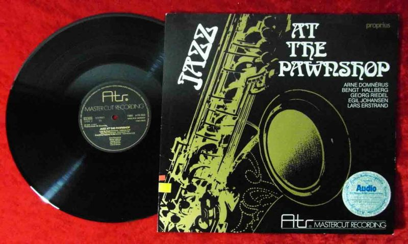 LP Jazz At The Pawnshop (ATR Mastercut 003) D 1977 Arne Domnerus & Co.