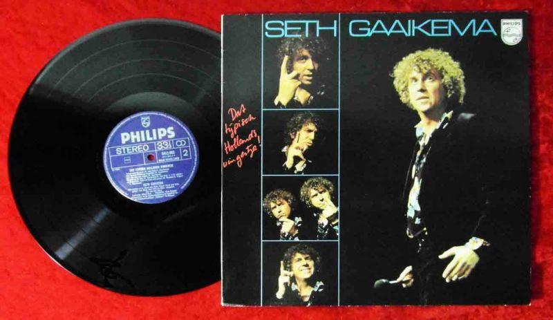 LP Seth Gaaikema: Dat typisch Holland´s Vingertje (Philips 6413 093) NL 1976