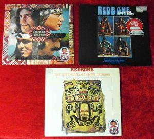 3 Langspielplatten REDBONE  - Vinylsammlung -