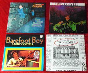 4 Langspielplatten LARRY CORYELL   - Vinylsammlung -