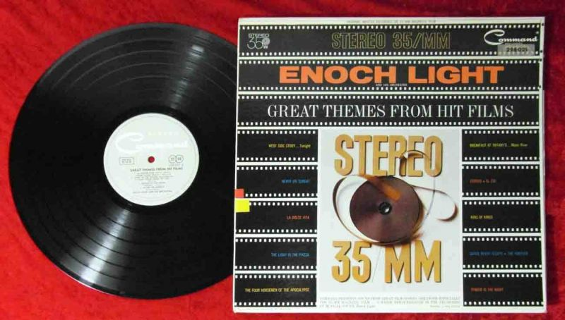 LP Enoch Light: Great Themes From Hit Films (Conmand 298 021) US 1962
