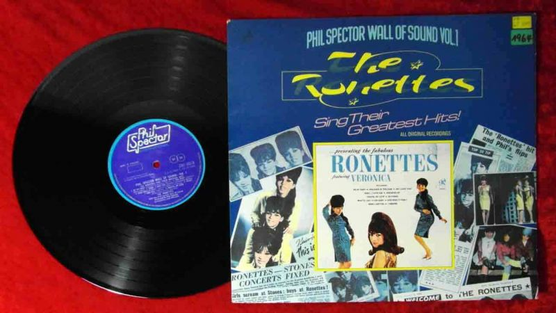 LP Ronettes Sing Their Greatest Hits! (Phil Spector 2307 003) UK