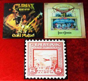 3 Langspielplatten  CLIMAX BLUES BAND - Vinylsammlung -