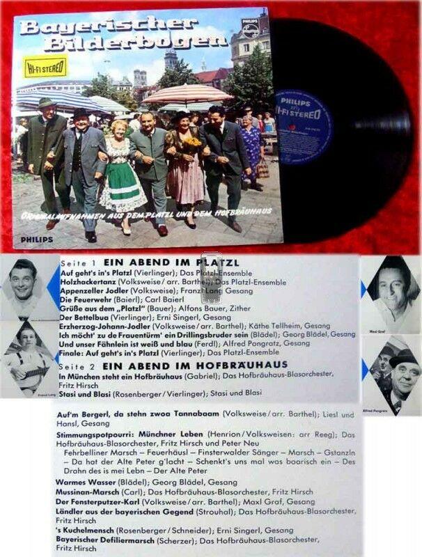 LP Bayerischer Bilderbogen (HiFiStereo) (1963)