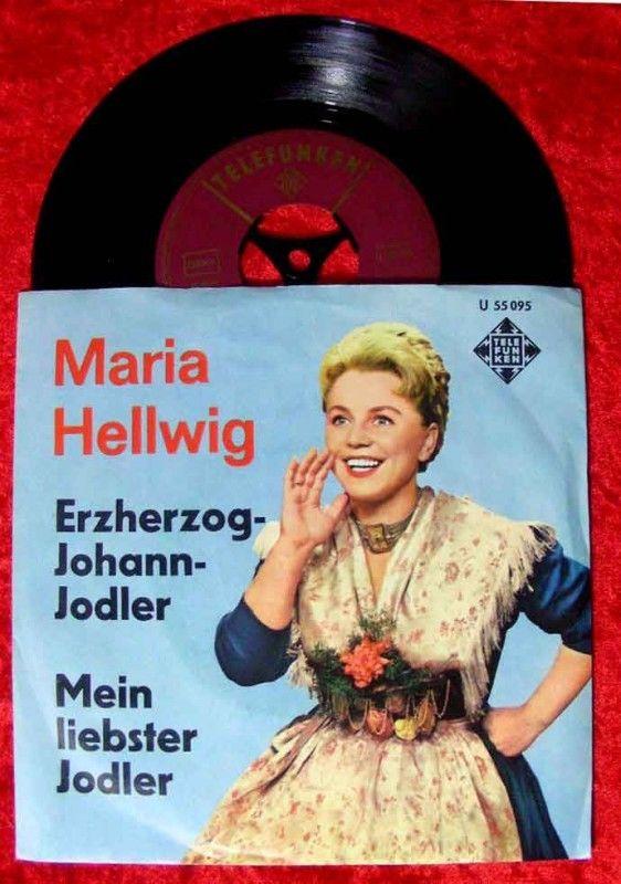 Single Maria Hellwig Erzherzog Johann Jodler