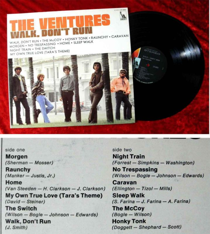 LP Ventures: Walk, don´t run (Liberty LST-8003) US 1965