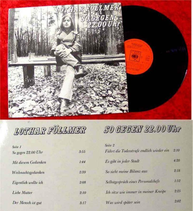 LP Lothar Föllmer: So gegen 22.00 Uhr (1973)