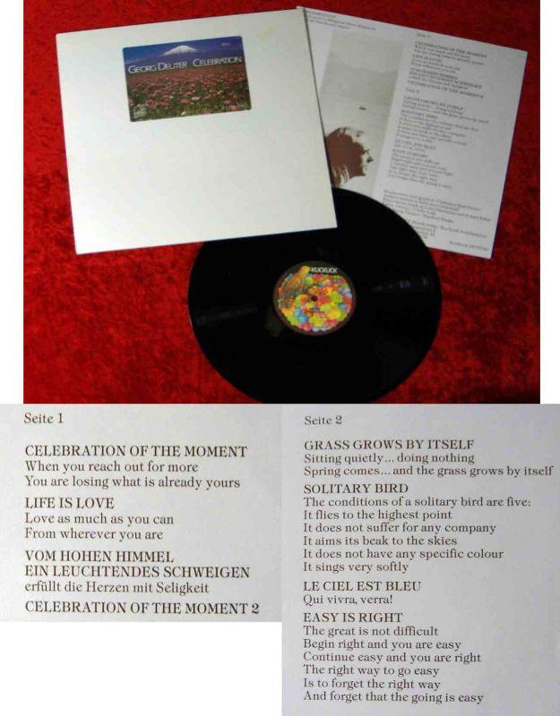 LP Deuter: Celebration (Kuckuck 2375 040( D