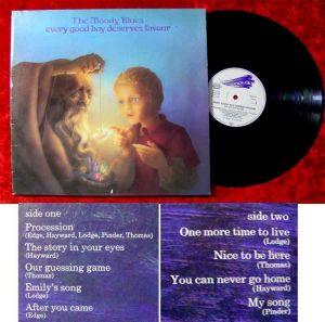 LP Moody Blues Every Good Boy Deserves Favour