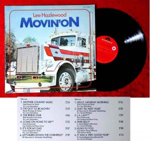 LP Lee Hazlewood: Movin´ On (Polydor 2379 147) Schweden 1977