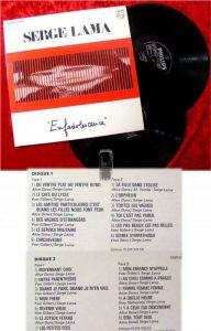 2LP Serge Lama: Enfadolescence (1978)