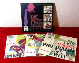3LP Box Die alte Welle (Extra Produktion Electrola) 1960´s