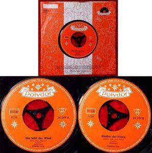 Single Charlie & Co.: Uns fehlt der Wind (Polydor 24 249) D