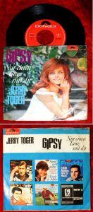 Single Jerry Toger: Gipsy / Nur einen Tanz mit Dir (Polydor 52 548) D 1965