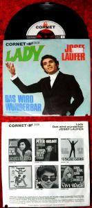 Single Josef Laufer: Lady (Cornet 3109) D 1969