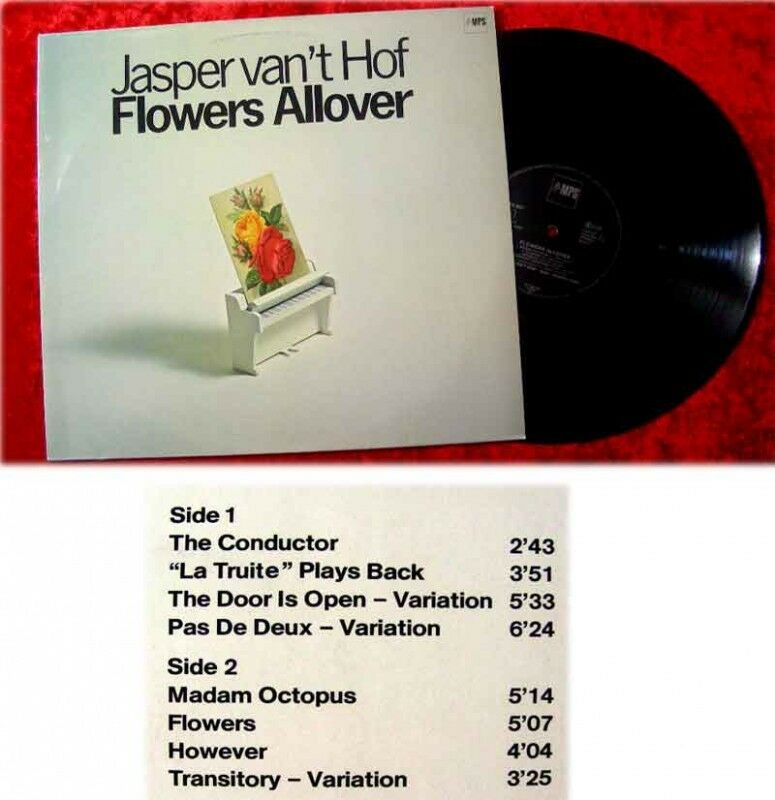 LP Jasper vant Hof Flowers Allover MPS 1977