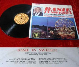 LP Count Basie In Sweden