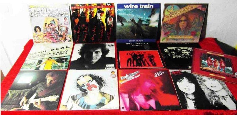15 Langspielplatten ROCK/POP - BOB SEGER HORSLIPS....usw - Vinylsammlung -