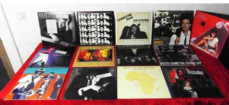 15 Langspielplatten ROCK/POP - BILLY JOEL WATERBOYS....usw - Vinylsammlung -
