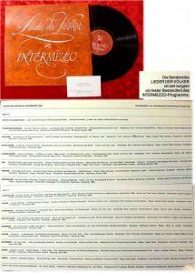 LP Lieder der Völker Intermezzo WWF WDR 1969 Theodore B