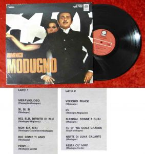 LP Domenico Modugno (Peters PILPS 4051) US 1975