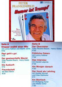 LP Peter Frankenfeld: Humor ist Trumpf (Dino 1361) D 1987