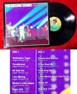 LP Rolling Stones: Great Hits (Nova 621614 AG) D