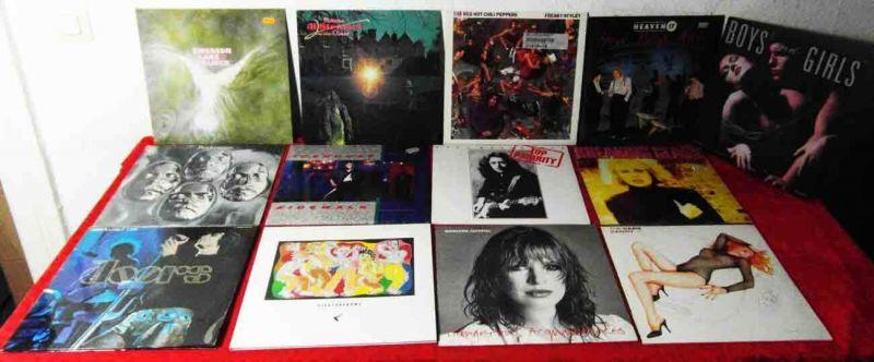 15 Langspielplatten ROCK/POP - DOORS BYRDS FAITHFUL... - Vinylsammlung -