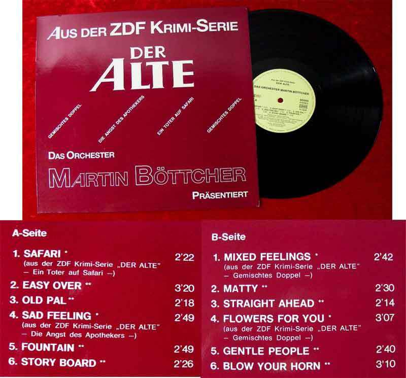 LP Martin Böttcher: Musik aus der ZDF-Serie