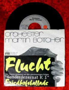 Single Martin Böttcher: Flucht / Friedhofsballade (Sonderdezernat K1)