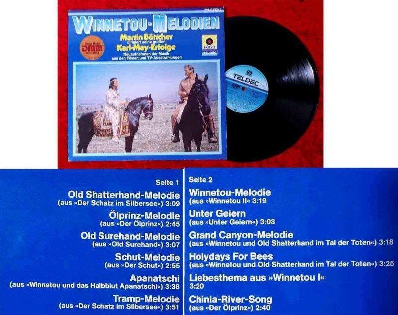 LP Martin Böttcher: Winnetou-Melodien (Hör Zu 624965 AS) D 1981