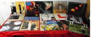 15 Langspielplatten ROCK/POP - BILLY IDOL STRANGLERS ICEHOUSE - Vinylsammlung -
