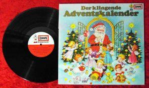 LP Der klingende Adventskalender (Europa E 2090) mit Hans Paetsch