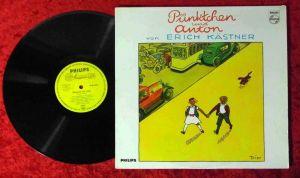 LP Pünktchen und Anton mit Erich Kästner (Philips Q 48 180 L) D 1965