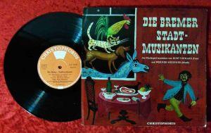 25cm LP Bremer Stadtmusikanten - Musikspiel von Kurt Vethake (Christophorus) D