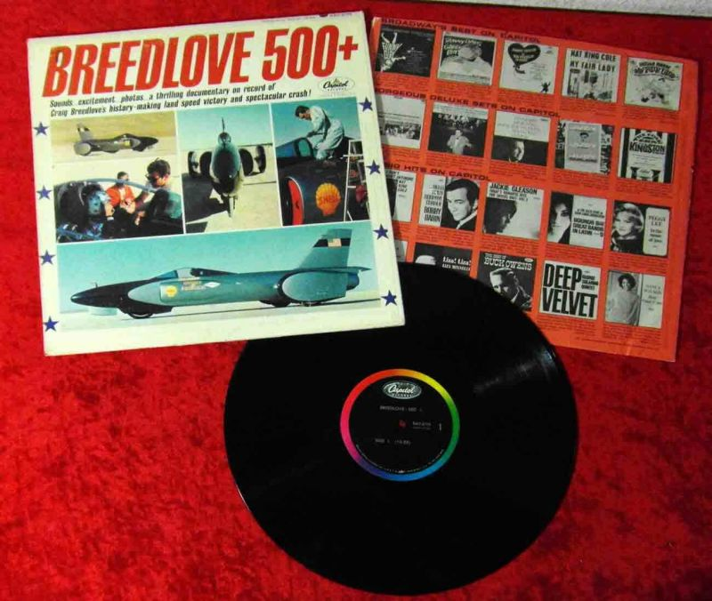 LP Breedlove 500+ - A Documentary (Capitol KAO 2175) US 1964