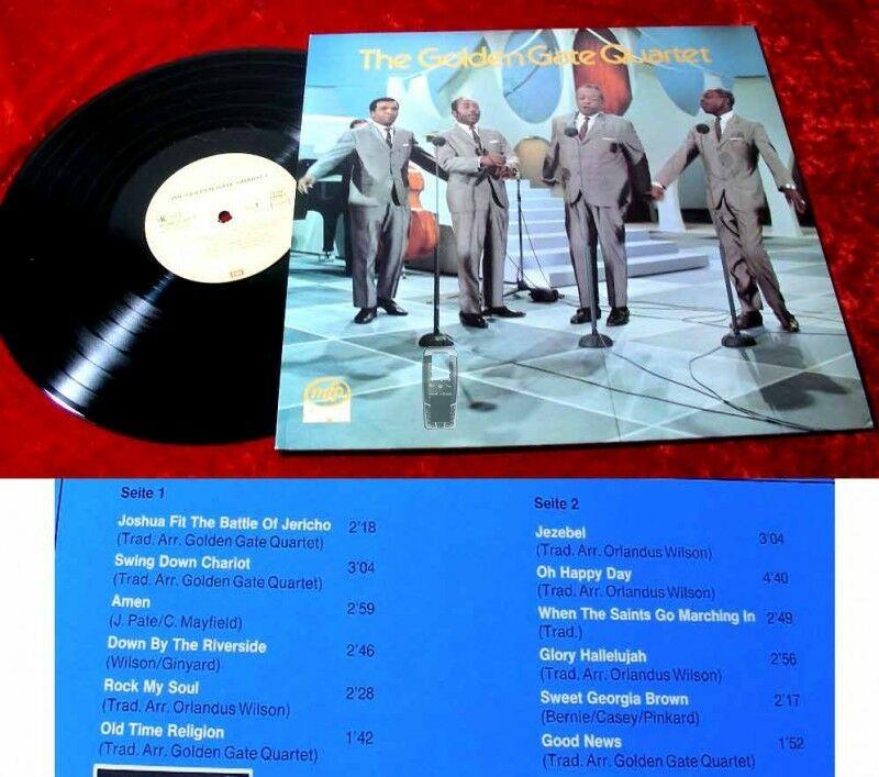 LP The Golden Gate Quartet