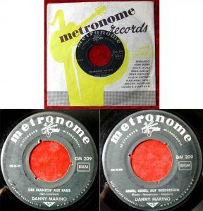 Single Danny Marino: Der Franzos´ aus Paris (Metronome DM 209) D