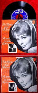 Single Vivi Bach: Mi scusi, mi scusi, Signor (Philips 345 245 PF) D