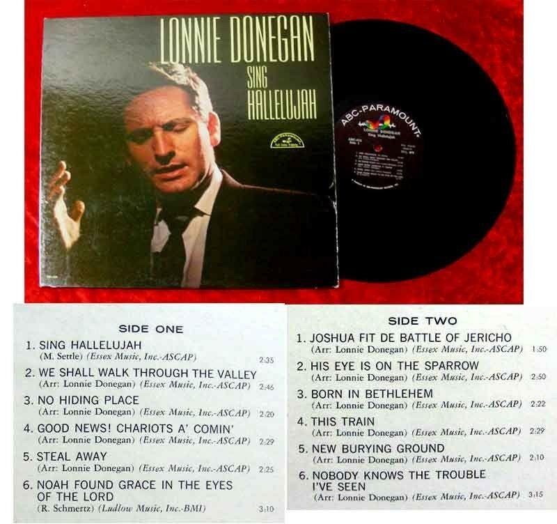 LP Lonnie Donegan Sing Hallelujah