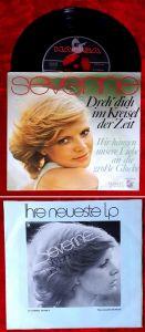 Single Severine: Dreh Dich im Kreisel der Zeit (Hansa 13 849 AT) D