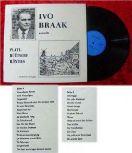 LP Ivo Braak vertellt plattdüütsche Döntjes