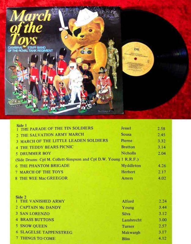 LP March of the Toys - Cambrai Staff Band of Royal Tank Regiment (UK)