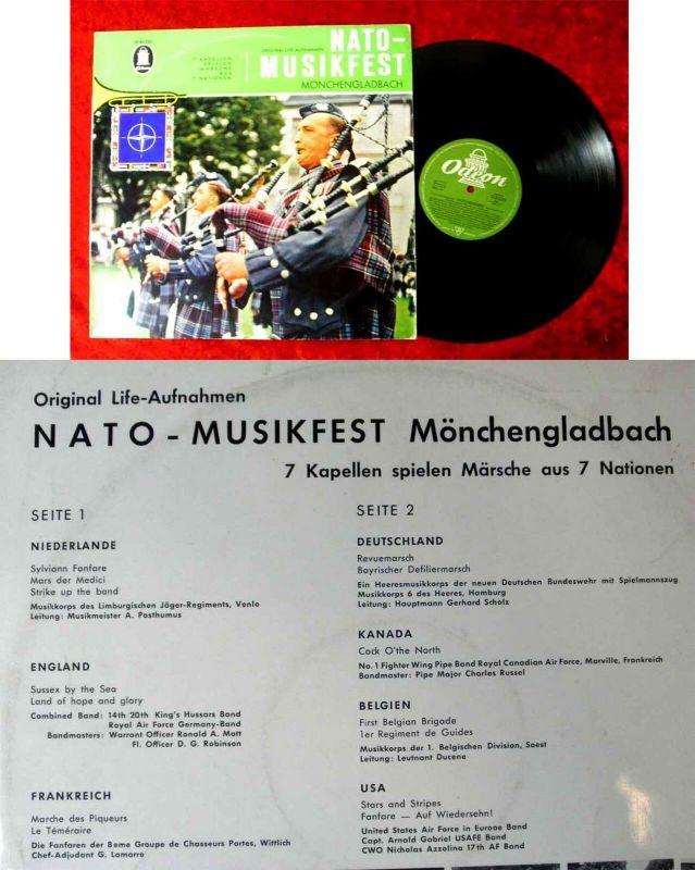 LP Nato Musikfest Mönchengladbach (Odeon 83 225) D 1960