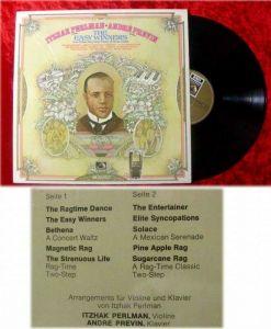 LP Itzhak Perlman & Andre Previn:Easy Winners by Joplin