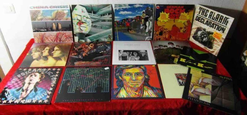 15 Langspielplatten ROCK/POP - PRINCE PSYCHEDELIC FURS ... - Vinylsammlung -