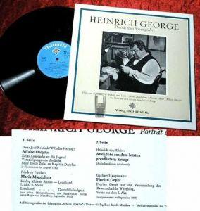 LP Heinrich George: Porträt eines Schauspielers