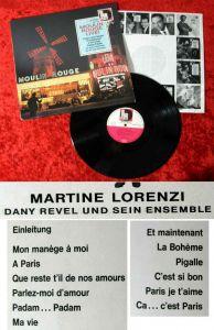 LP Martine Lorenzi: Moulin Rouge Live! (Volksplatte SMVP 6072) D