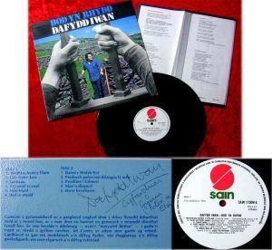 LP Dafydd Iwan Bod yn Rhydd Originalalbum aus Irland Si